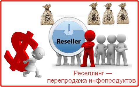 Реселлинг — прибыльный заработок в интернете